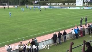 preview picture of video 'FC Schönberg 95 - BSV Hürtürkel 3:0 (1:0)'