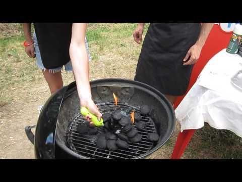 Come accendere il barbecue con Brikette Fochista