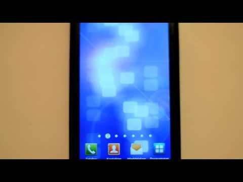 Video of Blue Data Live wallpaper