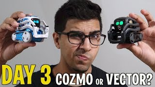 COZMO or VECTOR? - DAY 3 -  Anki's New Cute AI Metal Robot (FULL REVIEW + FREE VECTOR GIVEAWAY!)