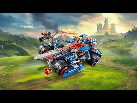 Vidéo LEGO Nexo Knights 70315 : L'épée rugissante de Clay