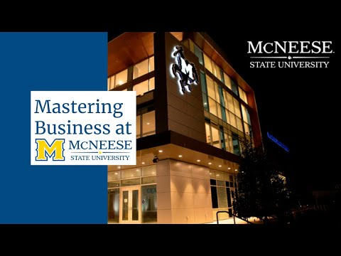 Mastering Business at McNeese State University