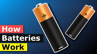 How Batteries Work - Battery electricity working principle