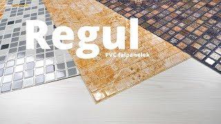 Videó: Regul PVC falpanel - Mozaik csempe hatású falburkoló lapok