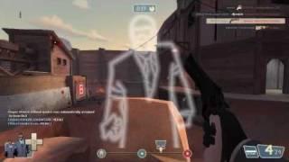 Spy frag TF2 - Spy on Goldrush  =3 (2)