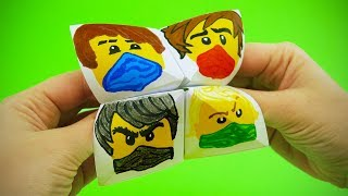 The Lego Ninjago Paper Fortune Teller Step by Step Tutorial   Chatterbox DIY