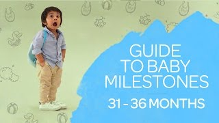 2.5 - 3 Years Old Baby Milestones Guide - Growth & Development