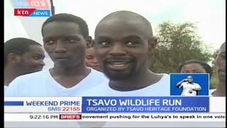 Tsavo Run flagged off to support wildlife