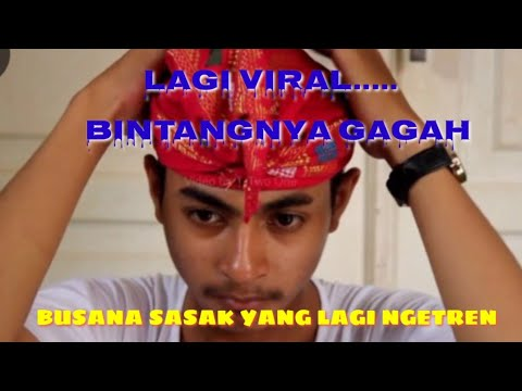 Video Pakian Adat Sasak