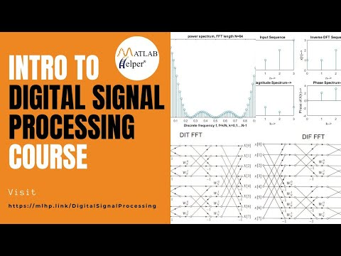 Introduction to Digital Signal Processing Course | MATLAB Helper ...