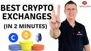 Best Cryptocurrency Exchanges of 2021 (in 2 minutes)