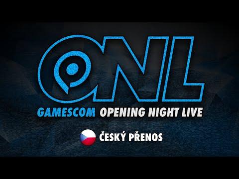 GAMESCOM Opening Night Live - Český přenos