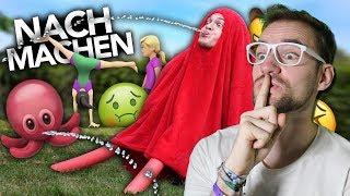 VERRÜCKTE EMOJIS NACHMACHEN 6 | Joey's Jungle | REACTION