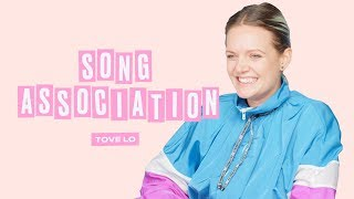 Tove Lo Sings Ariana Grande, Dua Lipa And Taylor Swift In A Game Of Song Association | ELLE
