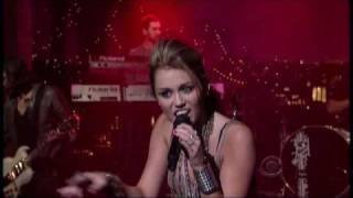 "Miley Cyrus - ""Can't Be Tamed"" 6/17 Letterman (TheAudioPerv.com)"