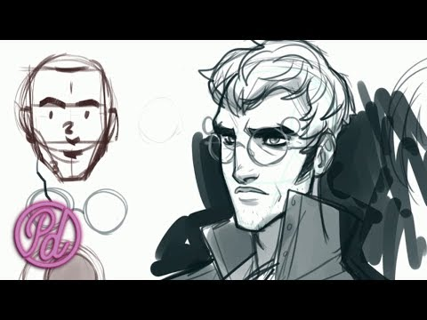 Draw Percy Using the Loomis Method   Pub Draw