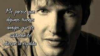 James Blunt - Best Laid Plans (subtitulada español) - Traducida