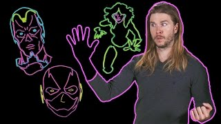 How Superheroes Phase Through Walls Is All Wrong! (Because Science w/ Kyle Hill)