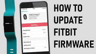 How to Update Fitbit Firmware (2020)