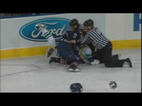 Zack Stortini vs. Darcy Hordichuk