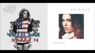 Lana Del Rey vs. Ryn Weaver - National Anthem/Octahate