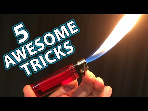 Download 5 Awesome Magic Tricks Hacks with Lighters HD Mp4 3GP Video and MP3