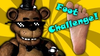 Five Nights at Freddy's Foot Challenge