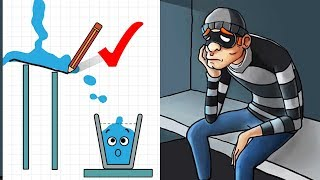 Happy Glass Vs Robbery Bob 2 Double Trouble - Fun Trolling Gameplay Walkthrough - Games For Kids