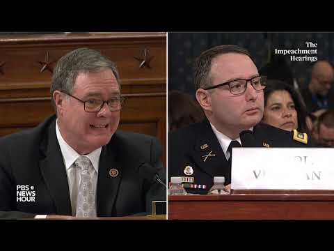 WATCH: Rep. Denny Heck's full questioning of Vindman and Williams | Trump impeachment hearings