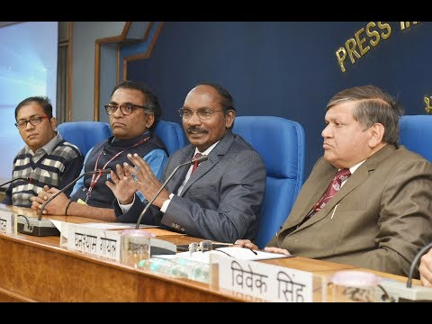 Press Conference by Chairman ISRO, Dr. K Sivan on issues related to Department of Space