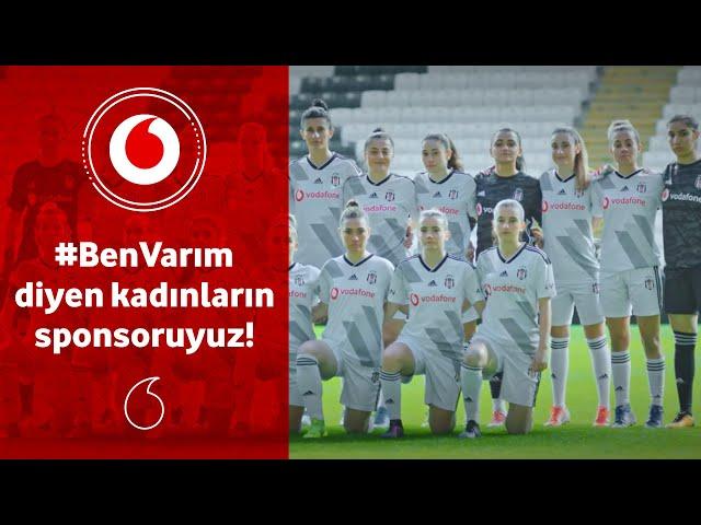 #BenVarım diyen kadınların sponsoruyuz!