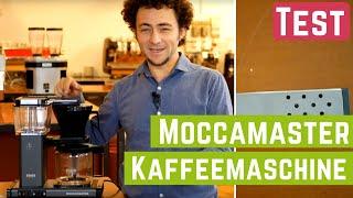 Ist diese Kaffeemaschine so gut wie ihr Ruf?   Moccamaster KBG 741 Test 2019
