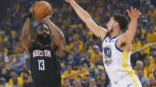 CP3 Ejected! Harden Caught Flopping Game 1 vs Warriors! 2019 NBA Playoffs