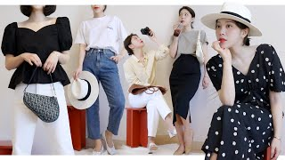 (sub) Early Summer Lookbook & Haul 🐚 여름을 준비하는 나의 패션 룩북 | Dear.jerry