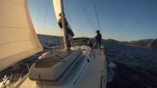 Яхтинг по Греческим островам и трекинг в Греции. Sailing trip and trekking in Greece.