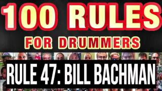 047: Bill Bachman (DCI Legend) | RULES FOR DRUMMERS