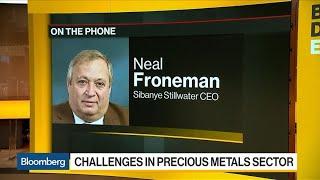 Sibanye Stillwater CEO on Restructuring, M&A, South Africa Mine Strike