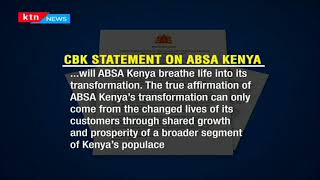 CBK Kenya: It's critical that ABSA Kenya rises to challenges