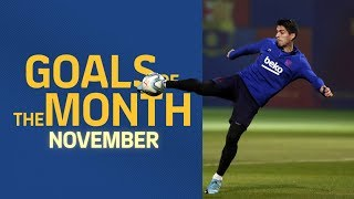 GOALS OF THE MONTH   November's training sessions
