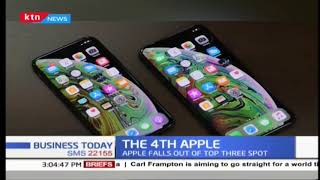 Apple falls out of top 3 spot as Shipment falls by 15%