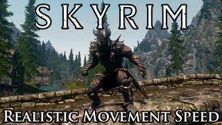 Skyrim Mod Spotlight: Realistic Humanoid Movement Speed