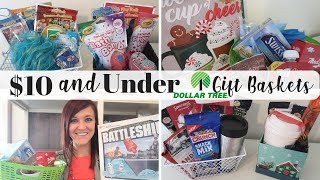 Dollar Tree Last Minute Christmas Gift Basket Ideas Under $10 | Name Brand Products