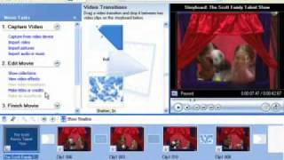 How To Use Windows Movie Maker (XP)