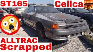 RARE 1988 Toyota Celica ALL TRAC Junk Yard Find