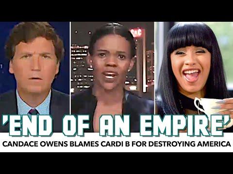Candace Owens Blames Cardi B For Destroying America