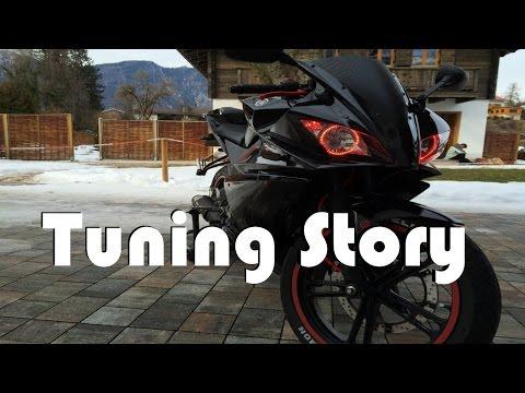 Yamaha Yzfr-125 Tuning-Story 2016 [HD]