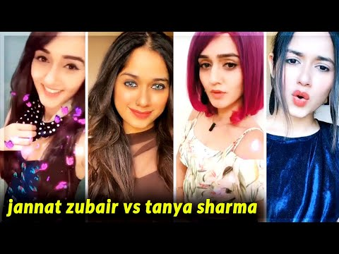 Tanya Sharma vs Jannat Zubair | Likee vs TikTok videos | Latest Trends