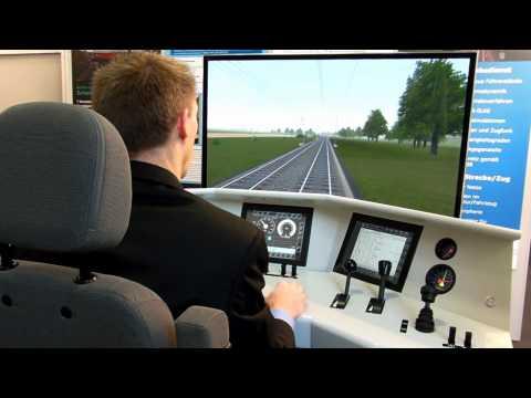 Zusi 3 - Fahrt im Trainingsnetz für kommerzielle Anwender (InnoTrans 2012)