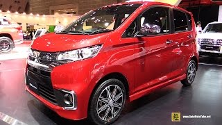 2016 Mitsubishi EK Custom - Exterior and Interior Walkaround - 2015 Tokyo Motor Show