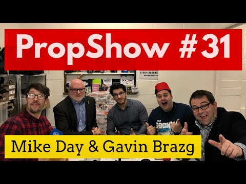 My appearance on the #PropShow!